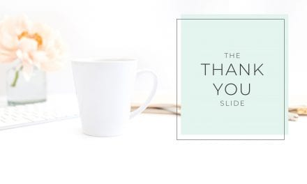 Thank You Slide Templates (and Creative Alternatives)