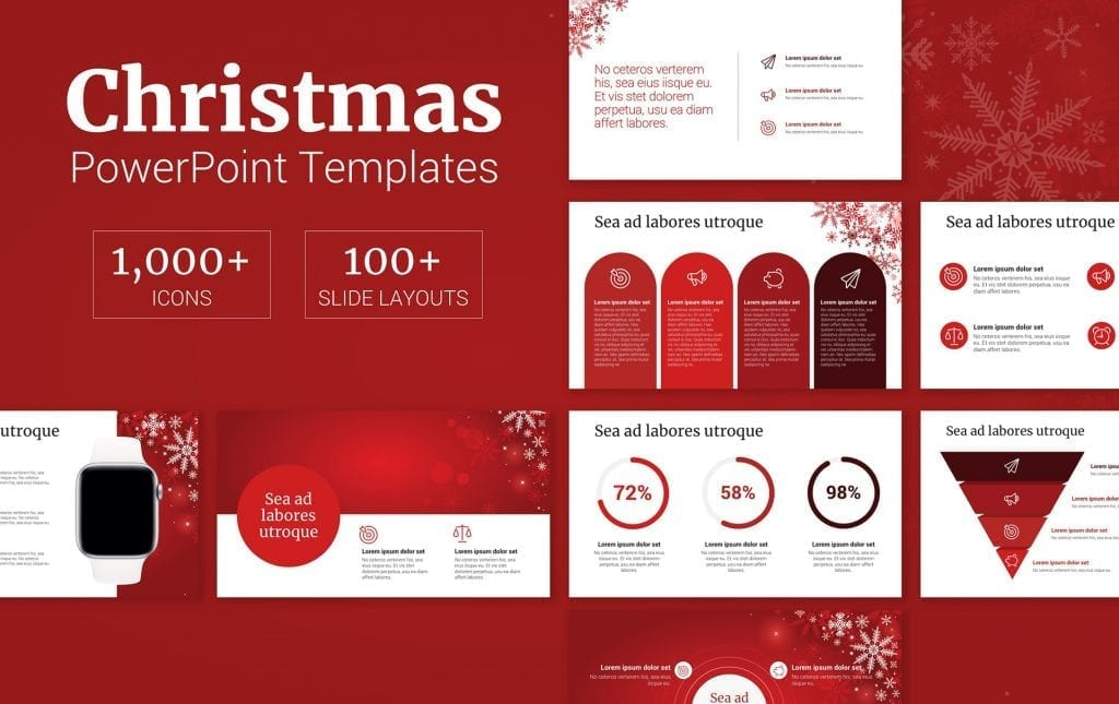 Christmas PowerPoint Backgrounds, Christmas PowerPoint Templates
